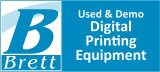 Used and Demo Digital Printing Equipment