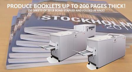 Produce Booklets Up To 200 Pages Thick