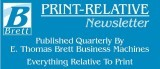 Brett Newsletter - Print-Relative