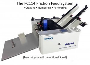 Count FC114A Creasing, Numbering, Perforating System
