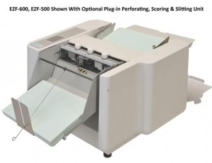 Uchida EZF-500 Semi-Automatic Setting Paper Folder