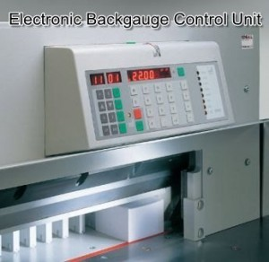 Digicut 280 Electronic Backgauge Control Unit